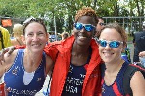 2011 World Championships - Gijon, Spain - Jamie Belinne, Yvonne Carter, Me