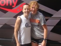 2009 Boilermaker - me and Becky Bader