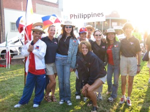 2005 World Championships - Newcastle, Australia - Team Philippines