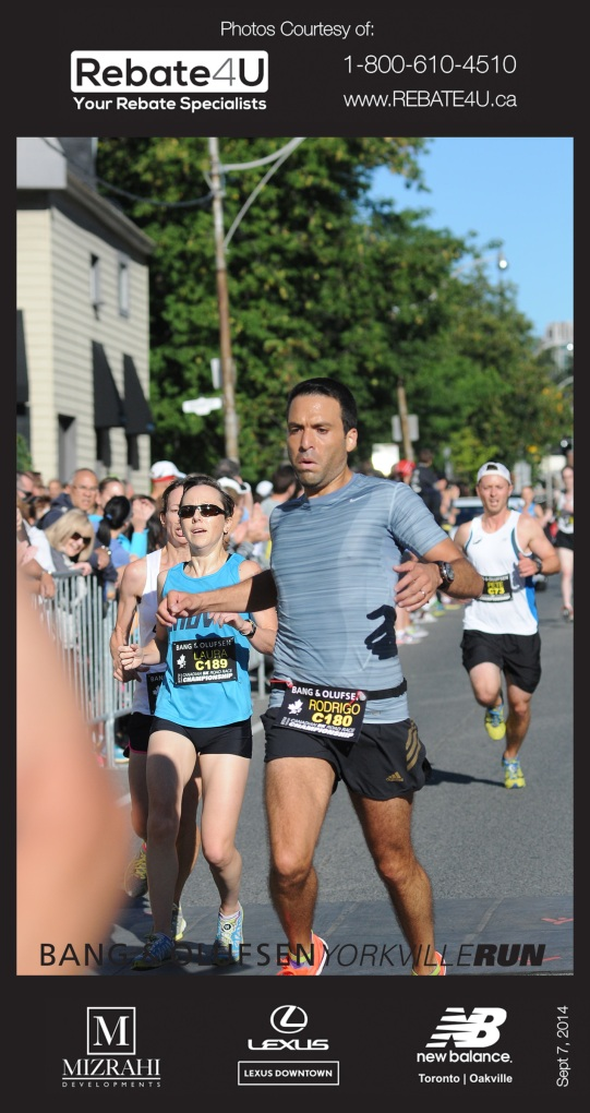 Note to self: if you want a finisher pic, make sure to pass the dude in front of you.